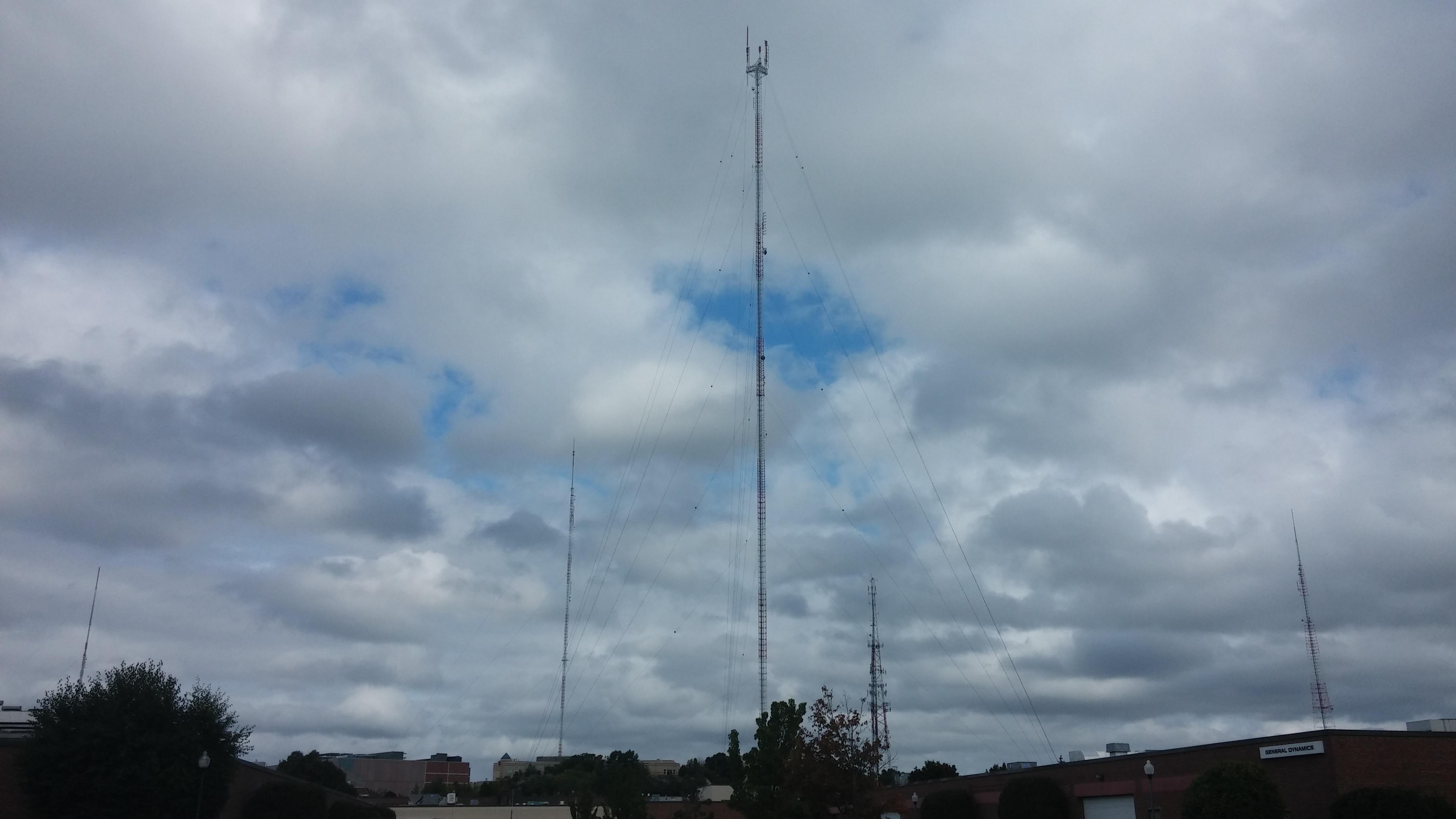 The Newton-Needham tower farm, September 2014