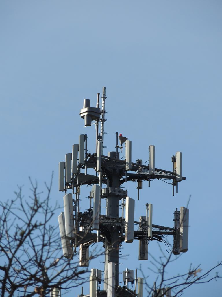 W230AW's new antenna on Echo Rd., in Mashpee.