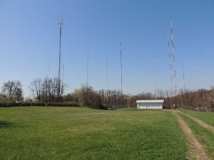 A nice collection of towers. The Roxborough Tower Farm in Philadelphia