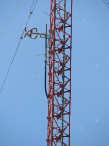 "The ""AUX"" antenna for WWBB."