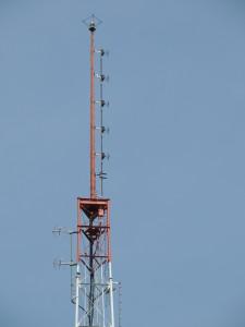 WWLI's antennas.