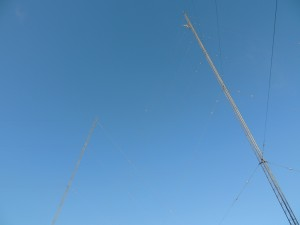 WVBFs two tower array in Taunton