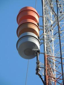 The exWAAF now WVEI antenna. It's so beautiful!