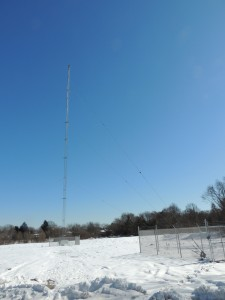 WNBH's new tower.