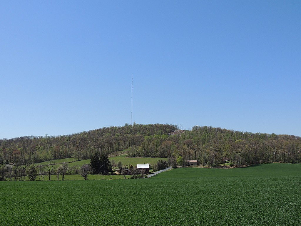 WGAL's tower site with WROZ on it.