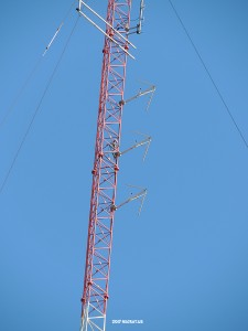 The 102.1 on the 650 (Formerly 1200, 1060) tower in Framingham.