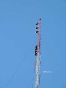 WXRV's new aux antennas.