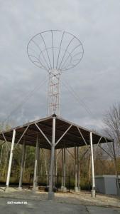WGFP's new antenna.