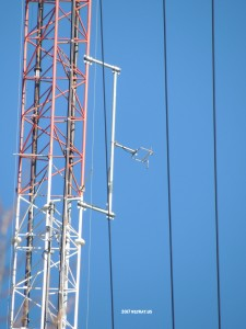WHAV-LP on the WXRV tower in Haverhill