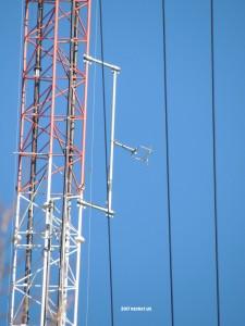 WHAV-LP on the WXRV tower in Haverhill