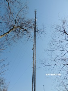 WYPH-LP 102.5 on the Box Mountain tower in Vernon, CT.